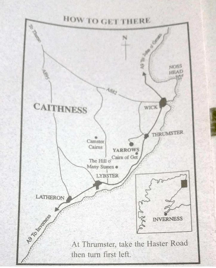 mappe caithness