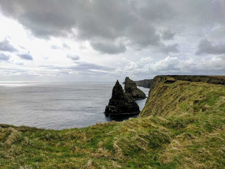 da Inverness a John O'Groats - stacks of duncansby - nord della scozia