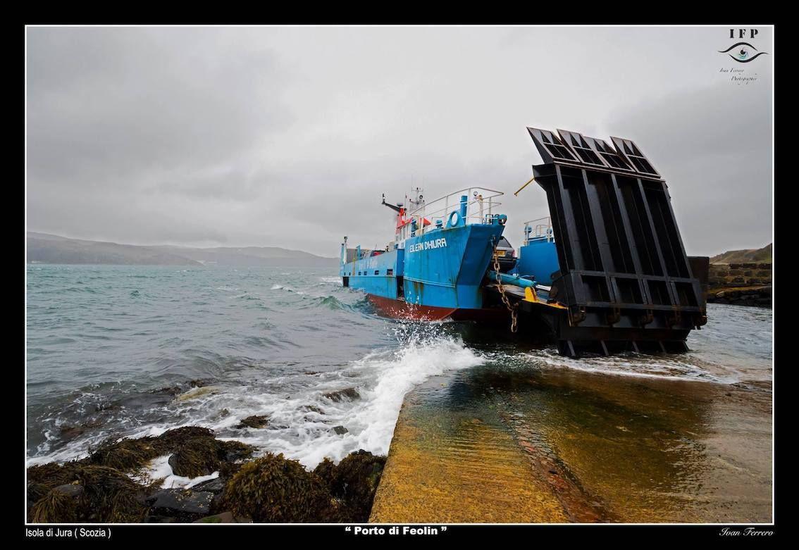 porto di Feolin scozia - isole scozia