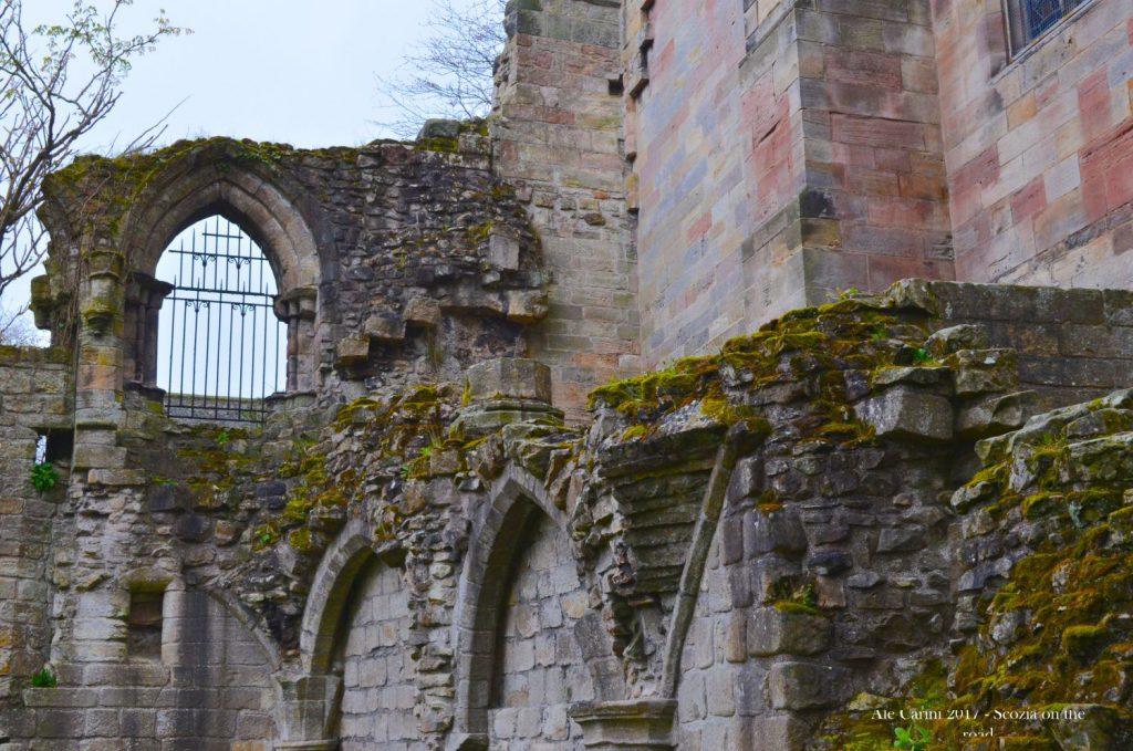 abbazia di culross, resti di edificio