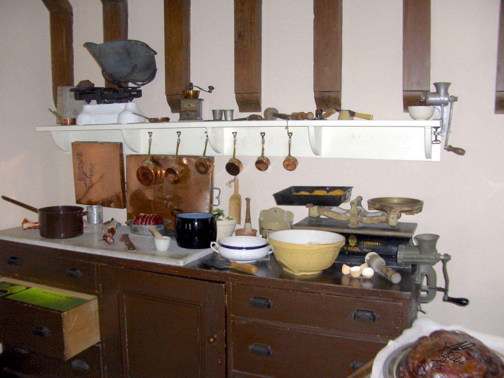 cucina, oggetti, interno