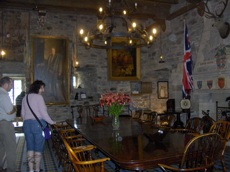 Eilean Donan castle - the great hall - castelli Scozia