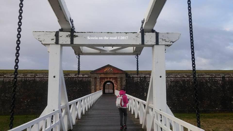 Fort george - drawbridge