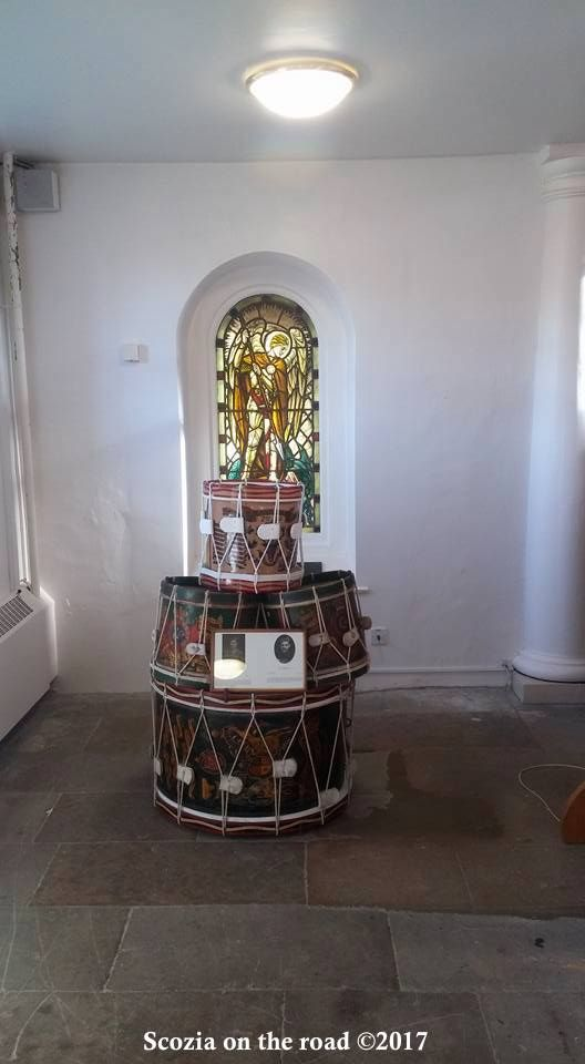 fort george, chiesa