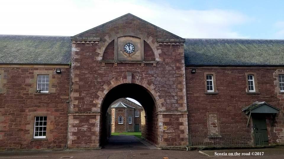 garrison chapel - Fort George scozia