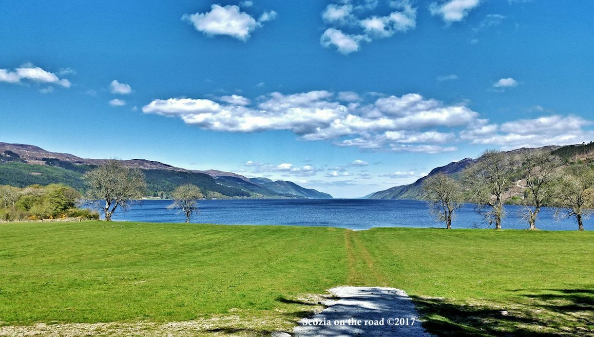 fort augustus Scozia - loch ness lake - scozia loch ness