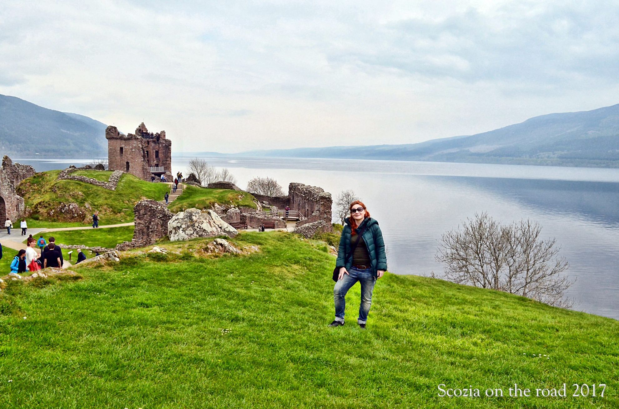 urquharti castle, lochness