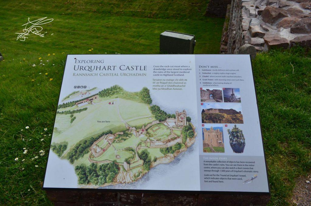 il castello di Urquhart - castelli scozia