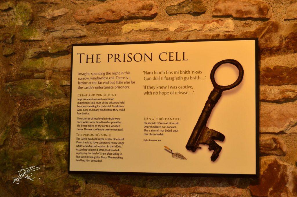 urquhart, prigione