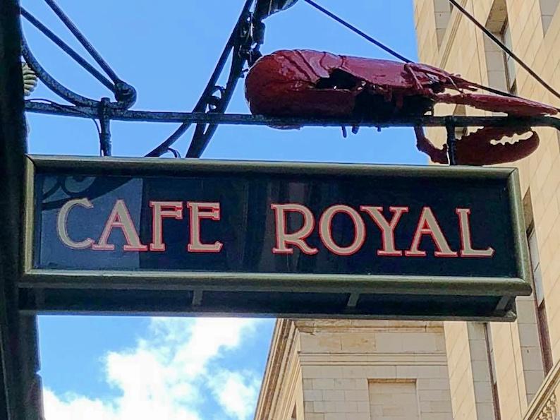 cafe royal, edimburgo