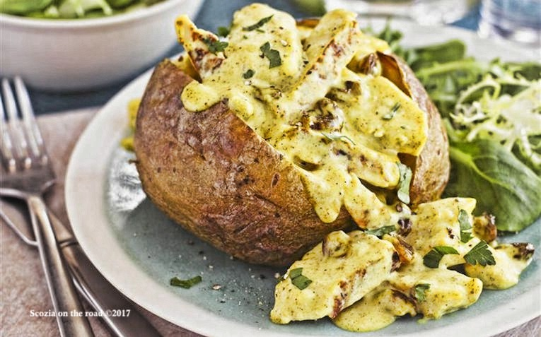 jacked potatoes - cibo scozia