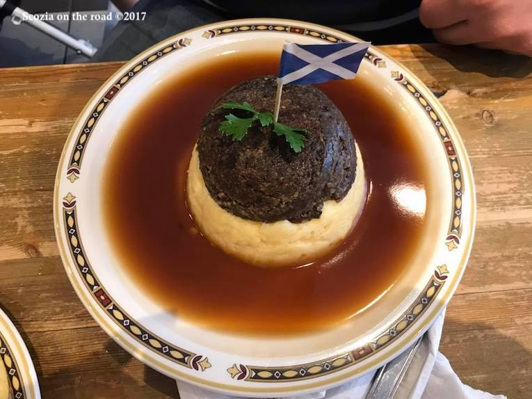 Scozia 30 piatti da assaggiare, black pudding - cibo scozzese