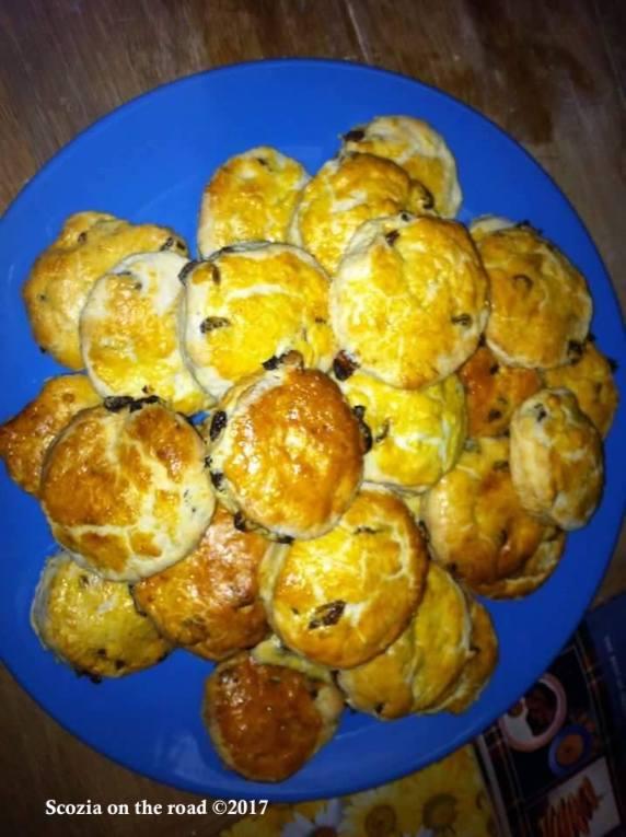 scones, 30 piatti da assaggiare in Scozia