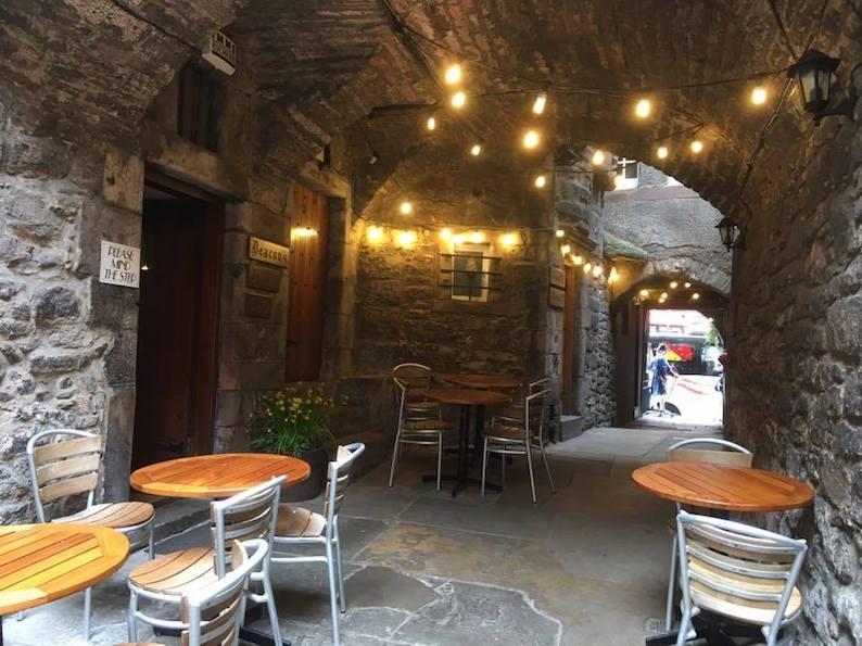 edimburgo, deacons house cafe