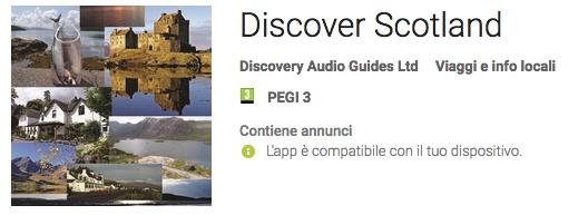 discover scotland app