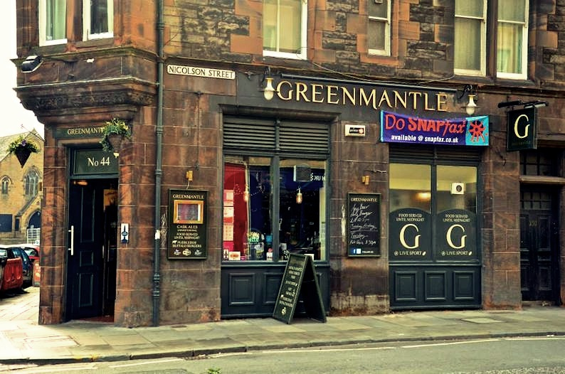 Mangiare a Edimburgo, green mantale