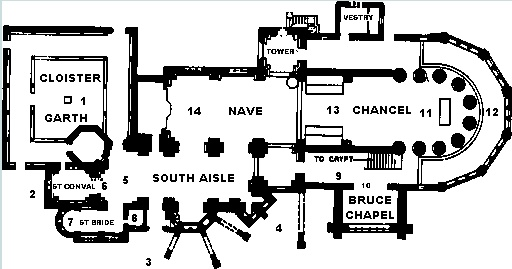 saint conan kirk map