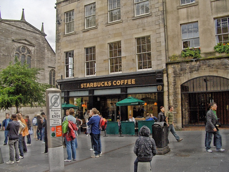 Edimburgo, caffetterie