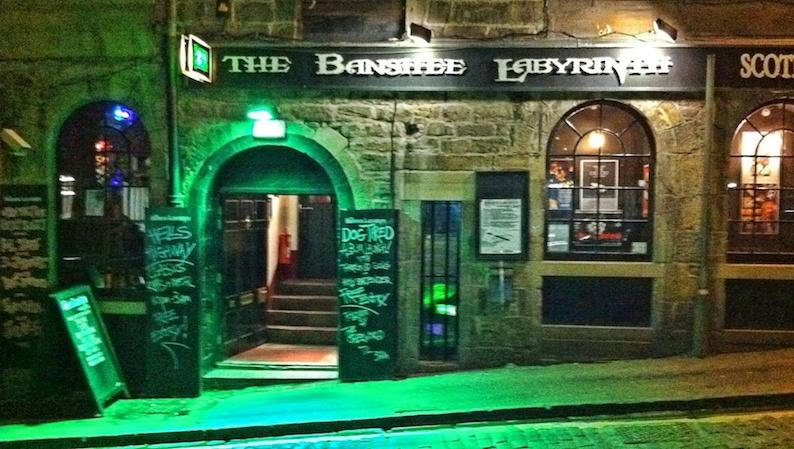 Mangiare a Edimburgo, the banshee