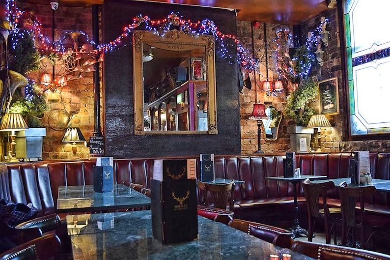 edimburgo whisky bar