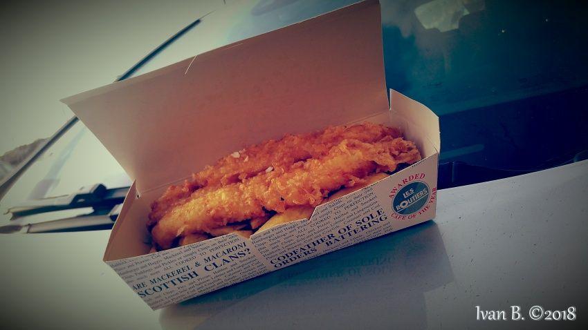 anstruther - fish e chips scozia - east neuk - fife scotland