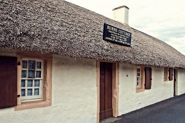 burns cottage, scozia