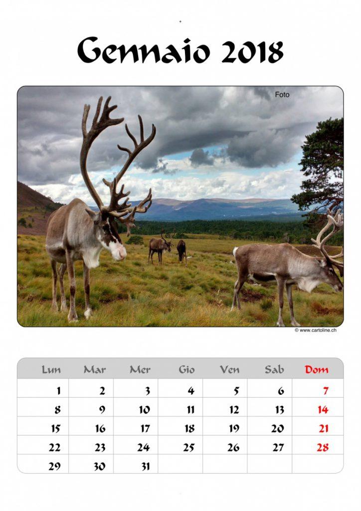 calendario scozia 2018