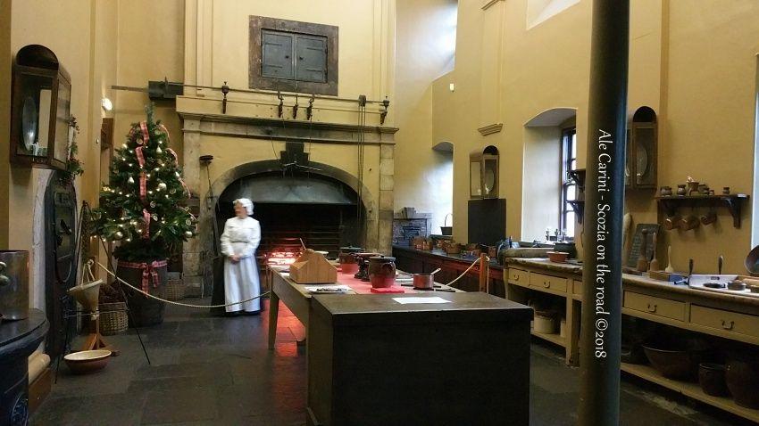 callendar house, cucina - Locations di Outlander nei dintorni di Edimburgo