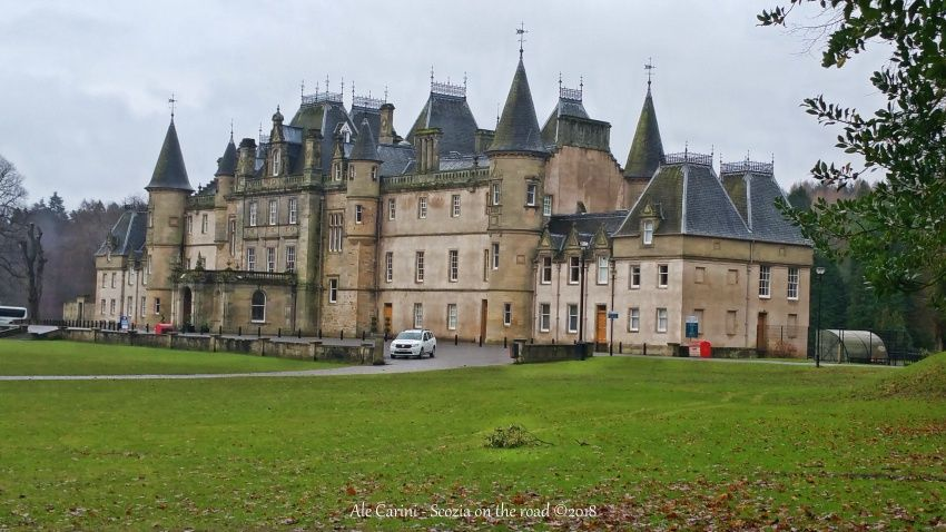 callendar house, Forth Valley Tourist Route