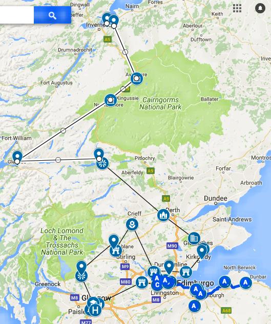 Copia di Outlander Locations Scotland