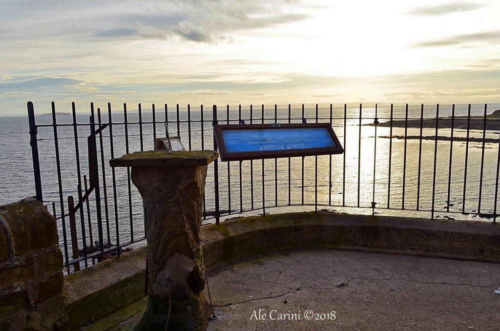 crail, meridiana, mare, tramonto