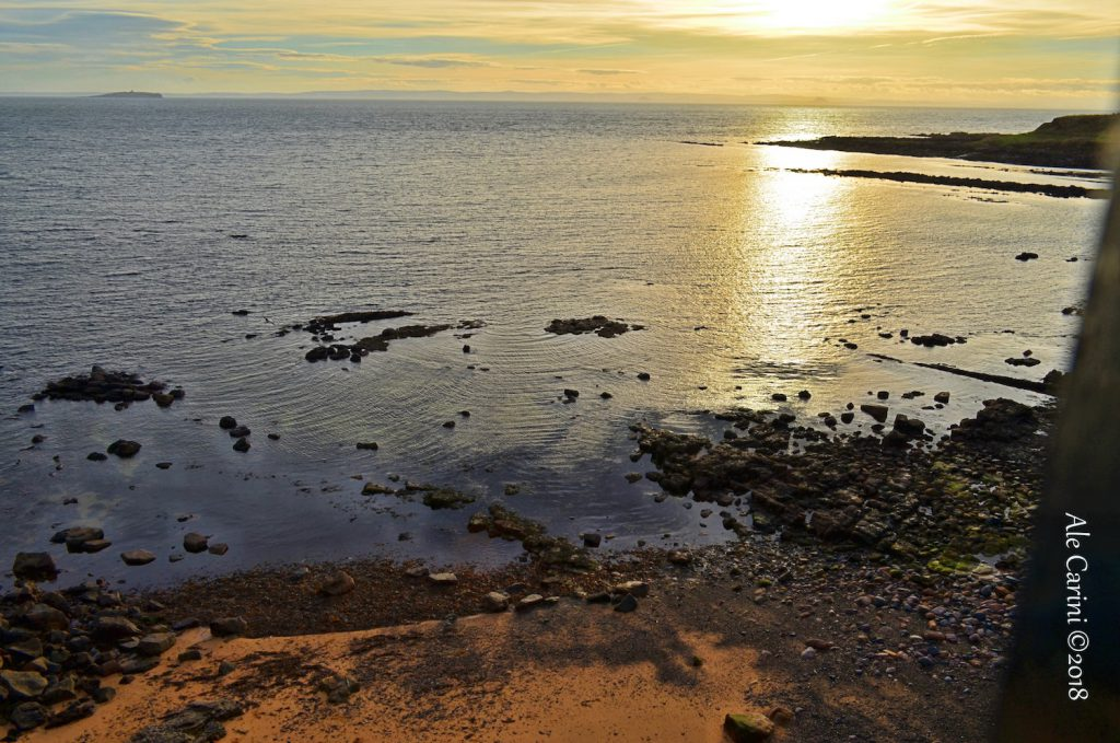 viste sul firth of forth - crail scozia