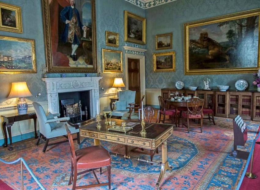 culzean castle, blue room