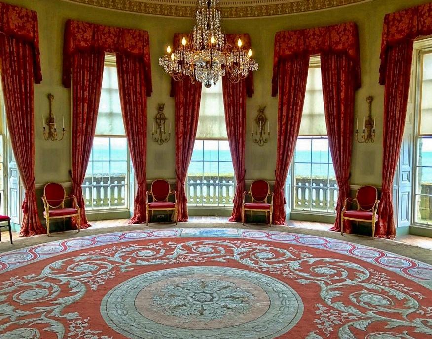 culzean castle, round room