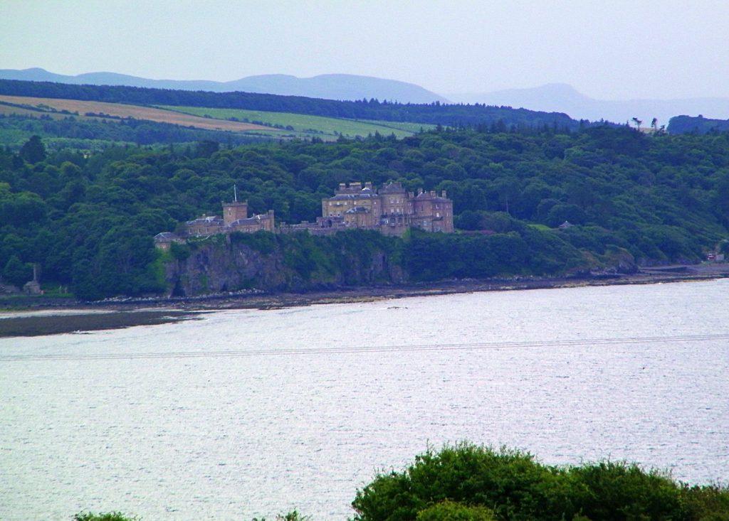 culzean castle, visto dal mare