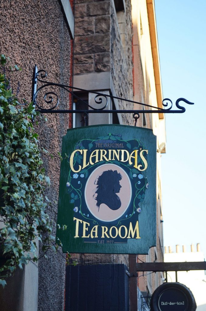 clarindas tea room - edimburgo