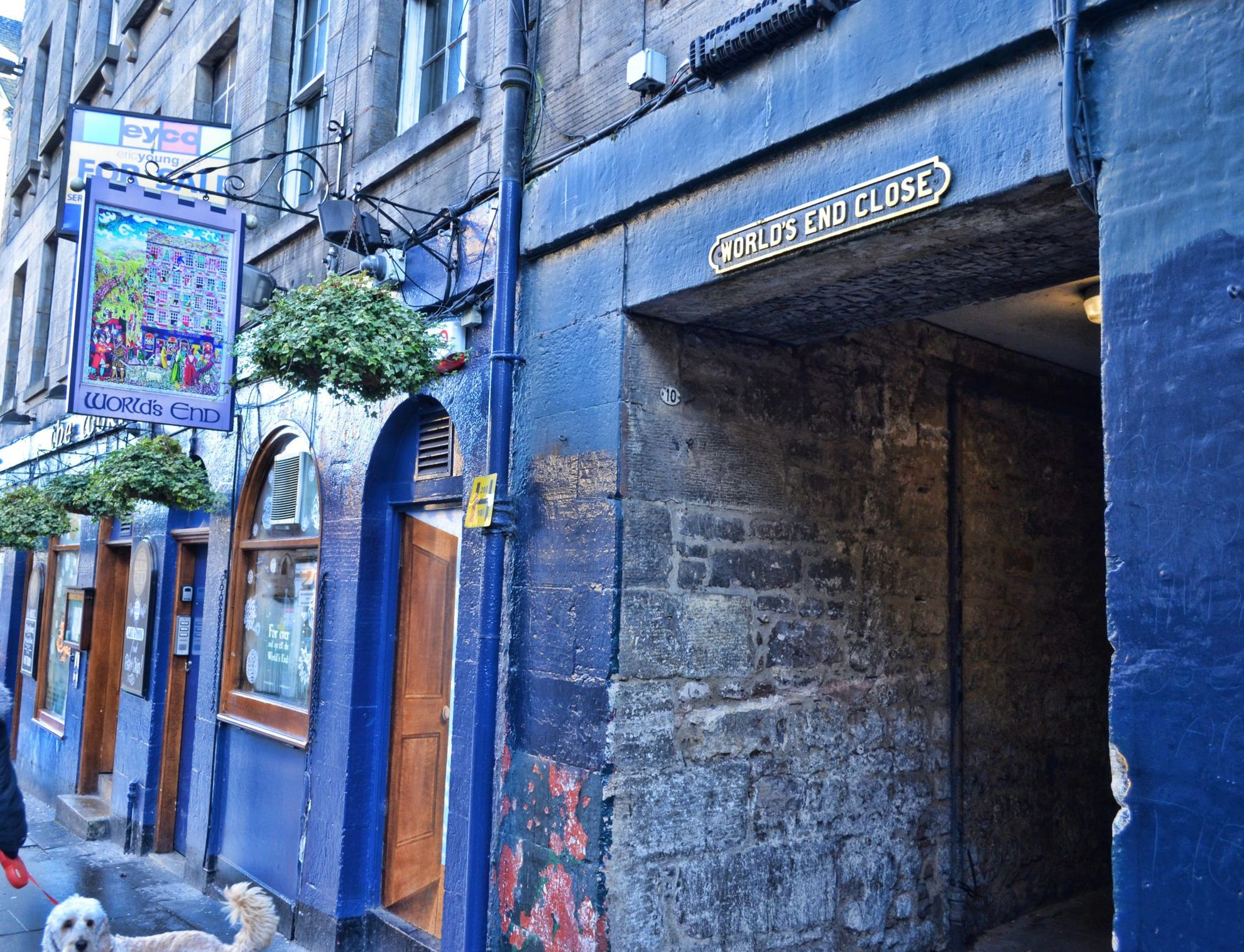 edimburgo, the world's end close