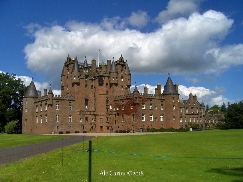 glamis castle, scozia