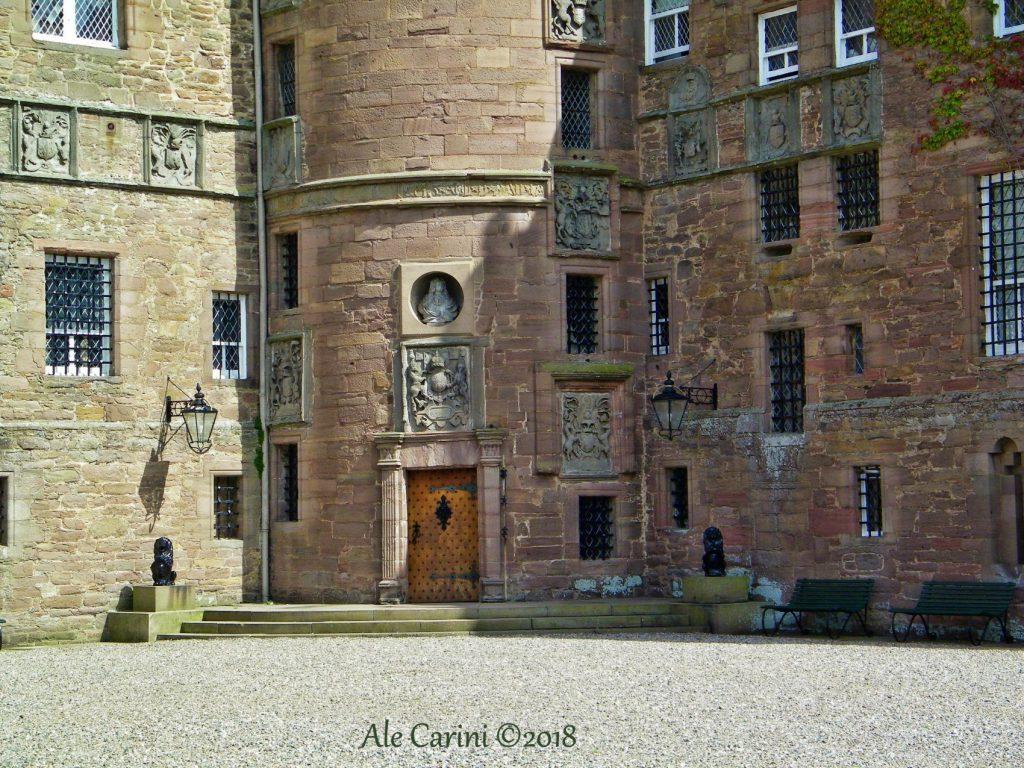 castello glamis - famiglia reale inglese