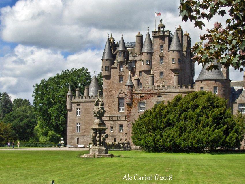 glamis castle, castello glamis