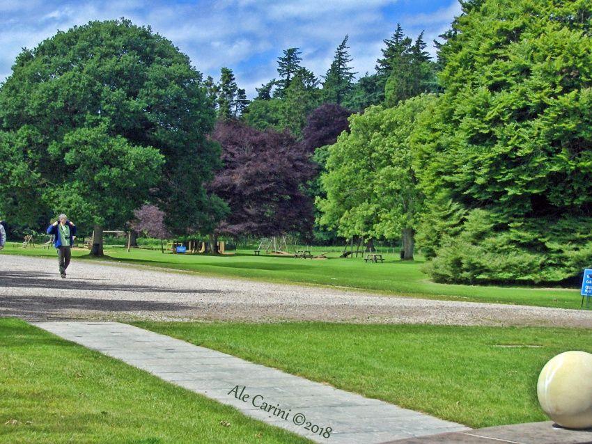 glamis castle, giardino