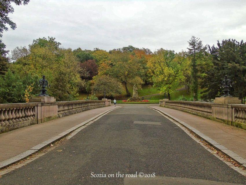 Kelvingrove Park, strada, parco