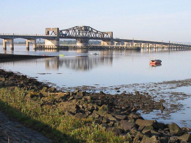 Kincardine Bridge, fife, scotland