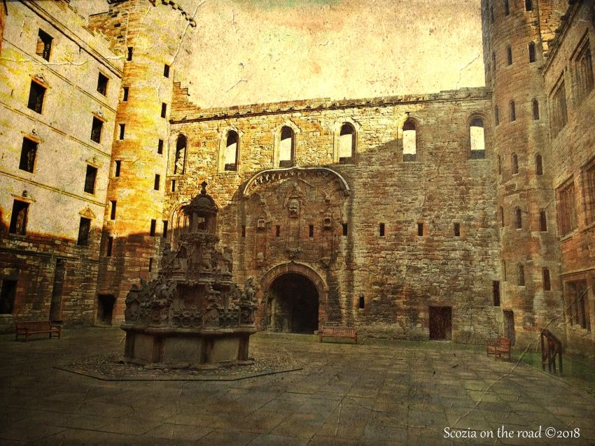 linlithgow palace - outlander locations scozia