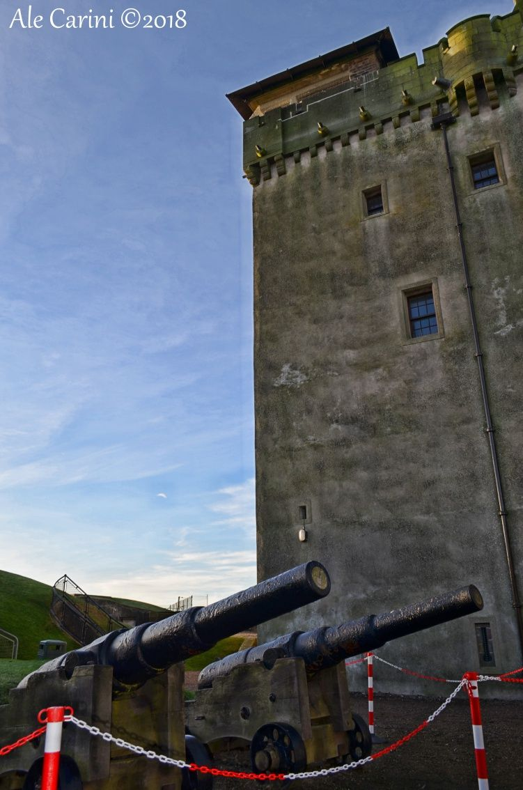 Broughty Castle cannoni2