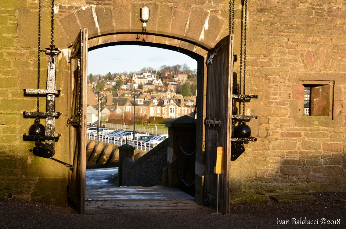 Broughty Castle ingresso3