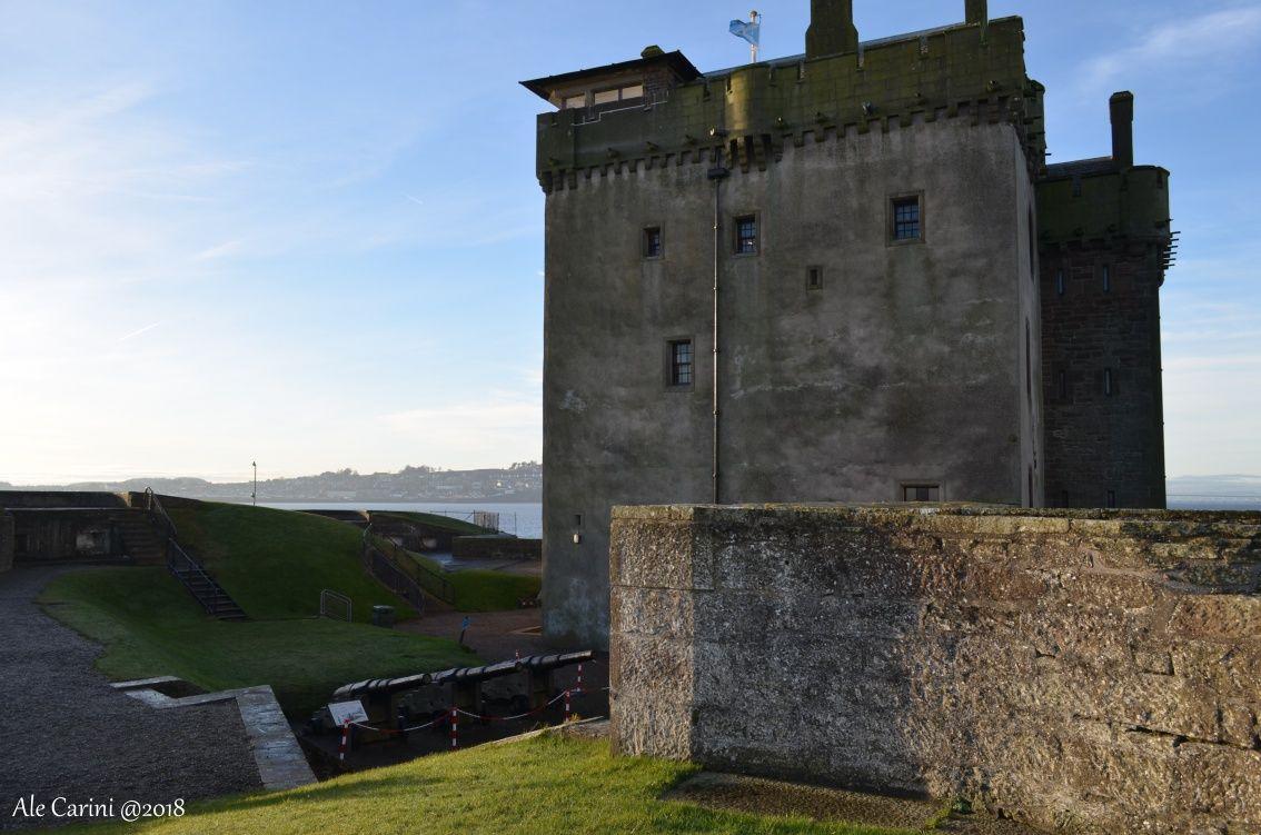 Broughty Castle vista da sud