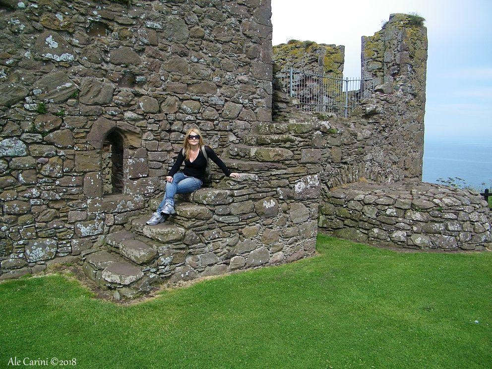 dunnottar castle, donna