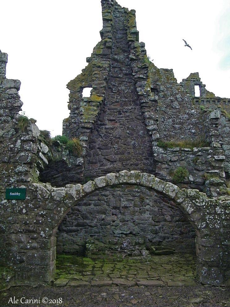 dunnottar castle, camino