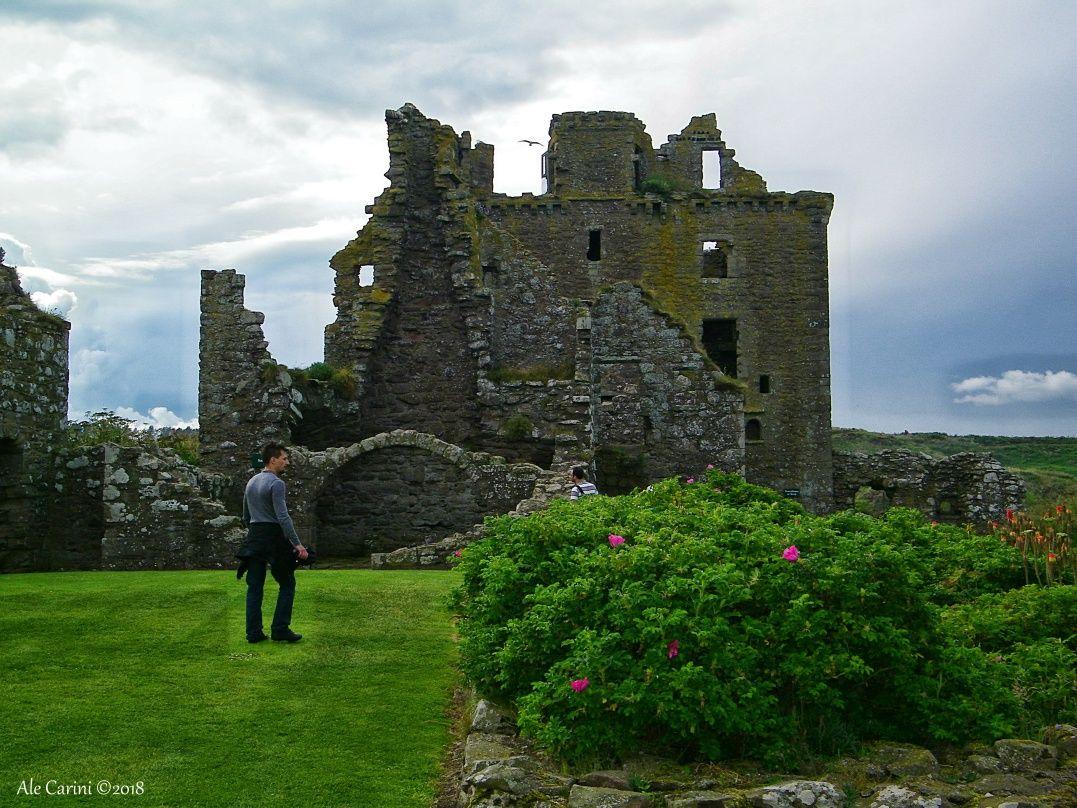 dunnottar castle, the keep